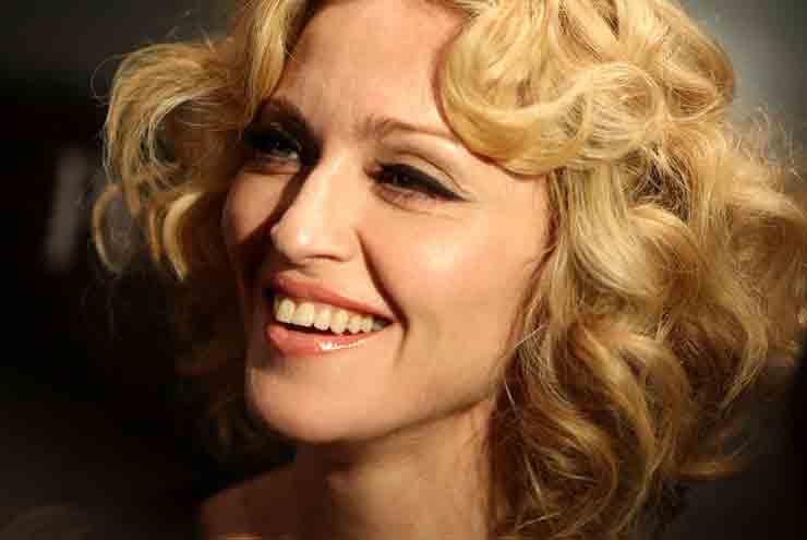 Мадонна красавица кожа лица
