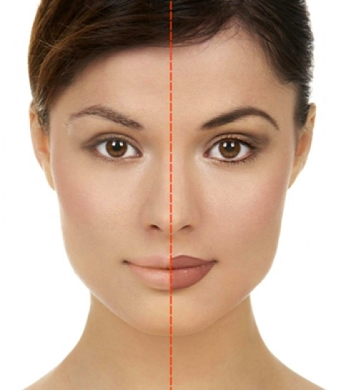 Перманентный макияж на коже лица