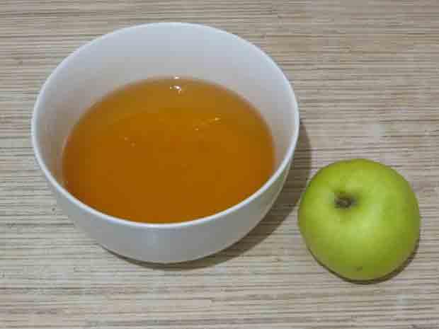 Мёд и яблоко маска