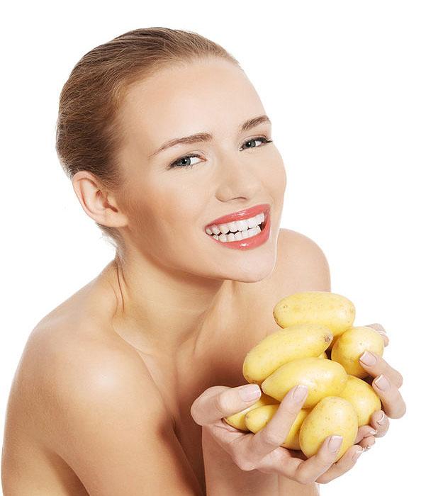 Картошка для лица