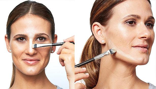 Техника макияжа стробинг - осветление