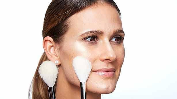 Техника макияжа стробинг растушевка
