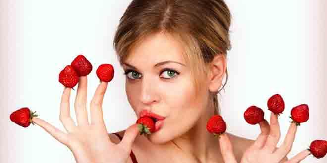 Маски из ягод малины