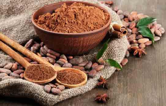 Маска из какао для кожи лица