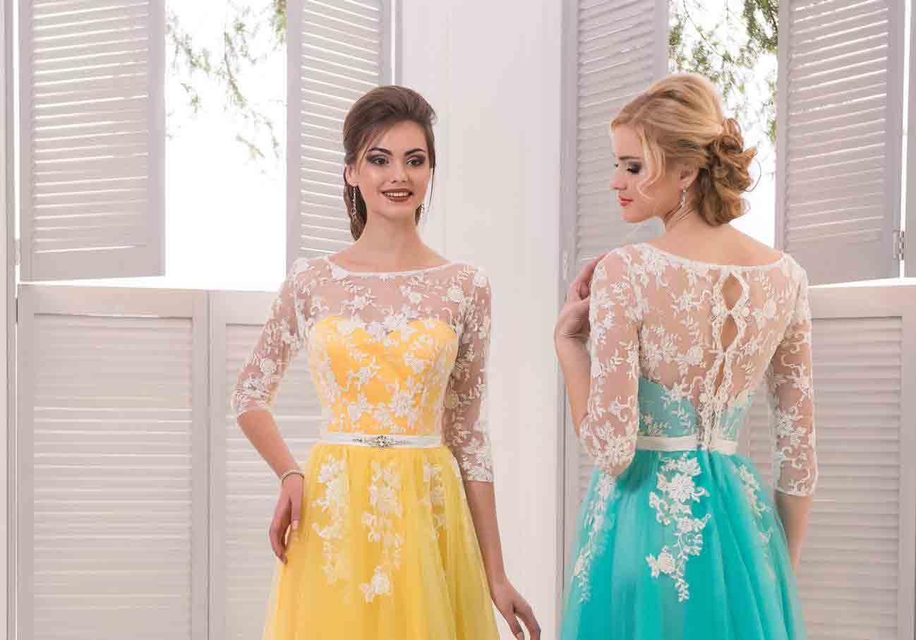 Красивое платье и кожа лица