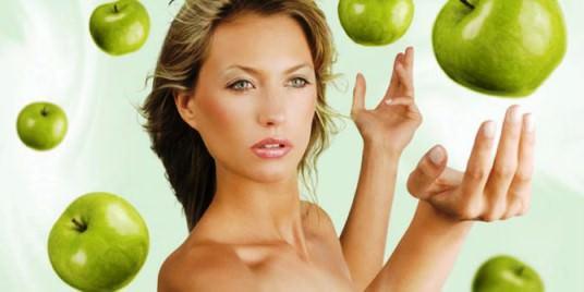 Маска из яблок для кожи