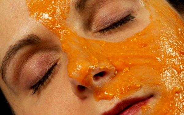 Маска из яблок и моркови