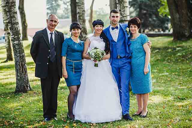 Уход за кожей лица, свадьба