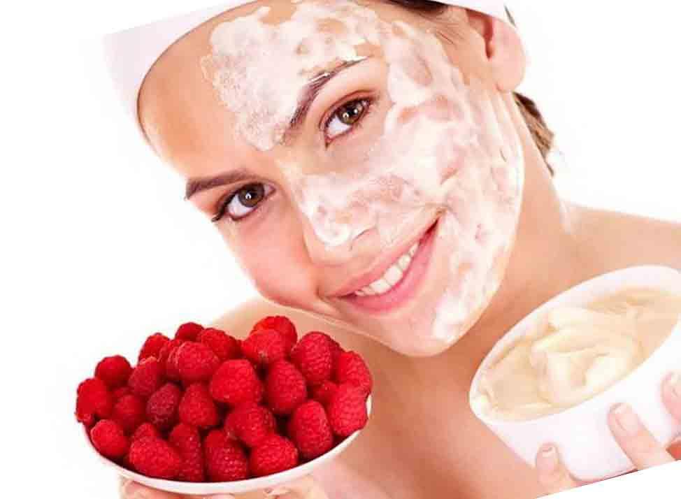 Клубника для кожи лица