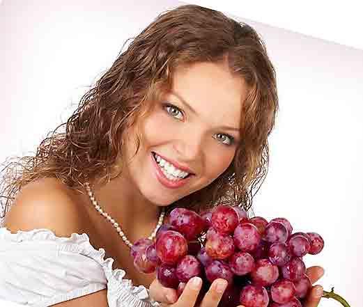 Маски из винограда для кожи лица