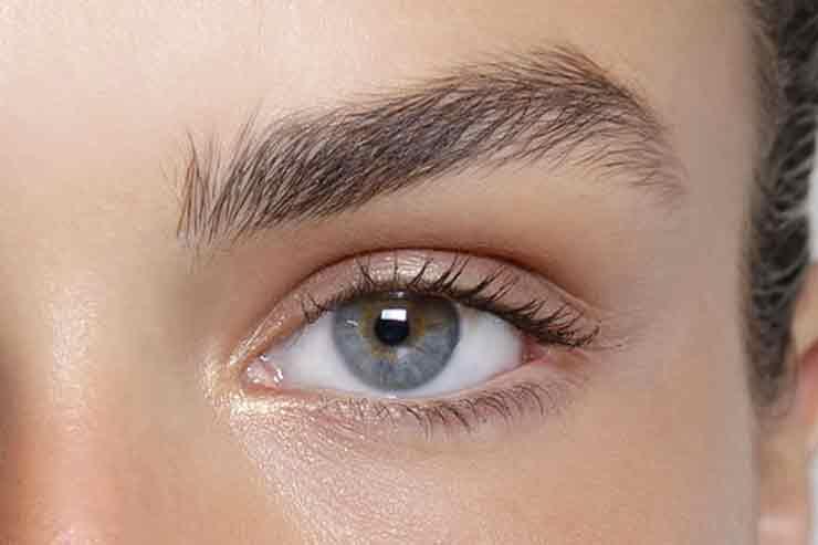 Как сделать глаза больше с помощью теней 786