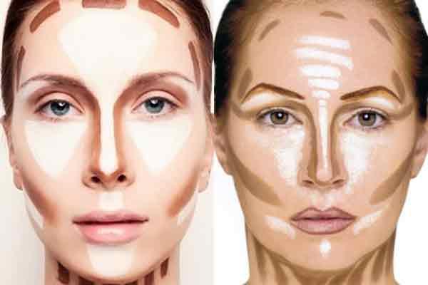Идеальный макияж уменьшаем нос