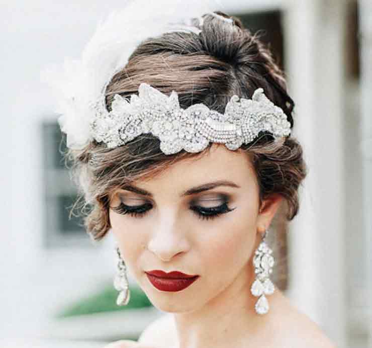 Свадебный макияж ретро