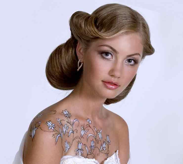Свадебный макияж авангард
