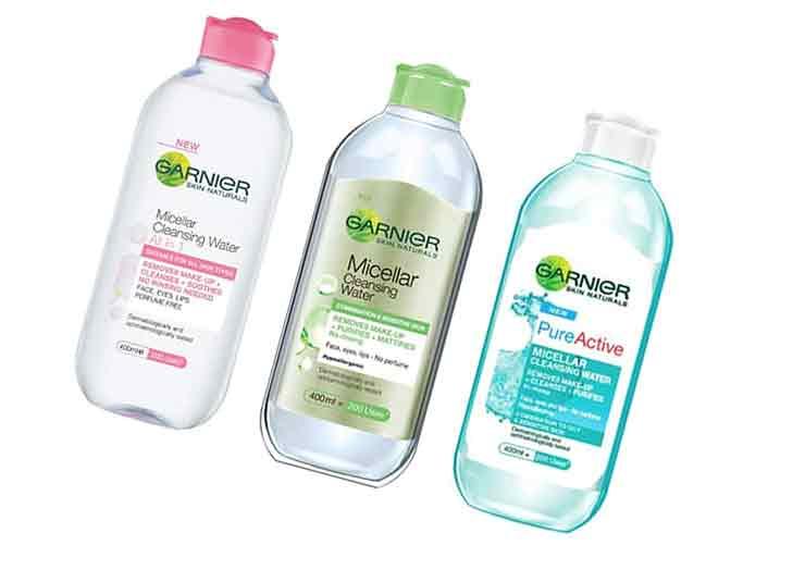 Очищение кожи Garnier Skin Naturals
