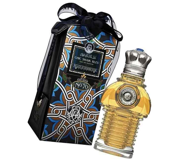 Мужской парфюм Shaik Chic Arabia Blue № 70