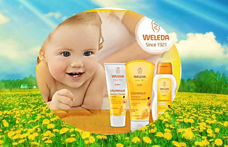 Косметика для кожи Weleda детская