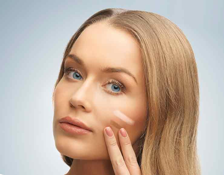 Тональный крем для кожи лица