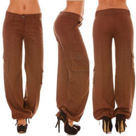 Молодёжный стиль в одежде брюки