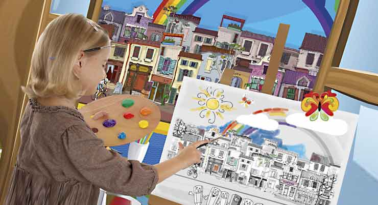 Детские курсы по рисованию