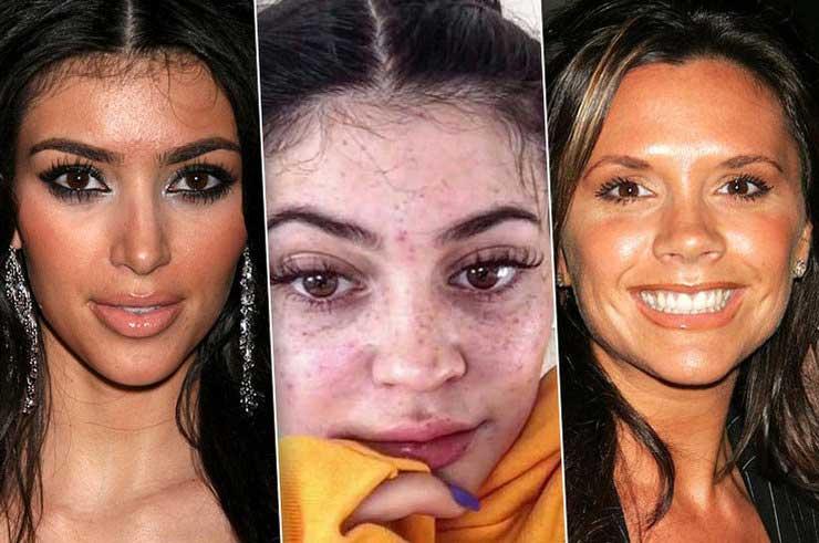 кожа лица звёзд