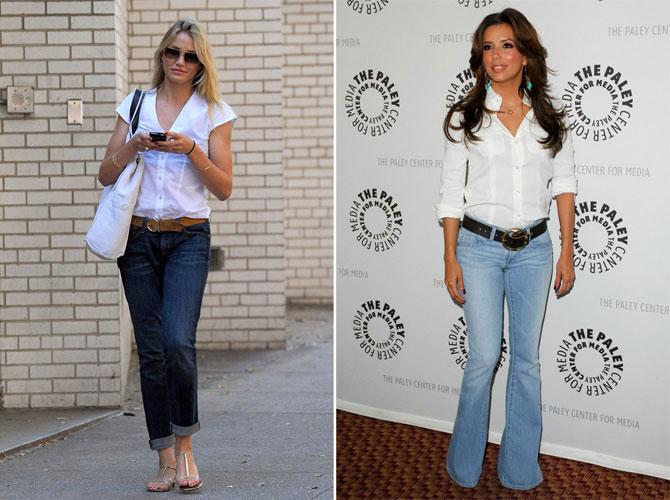 одежда образ джинсы