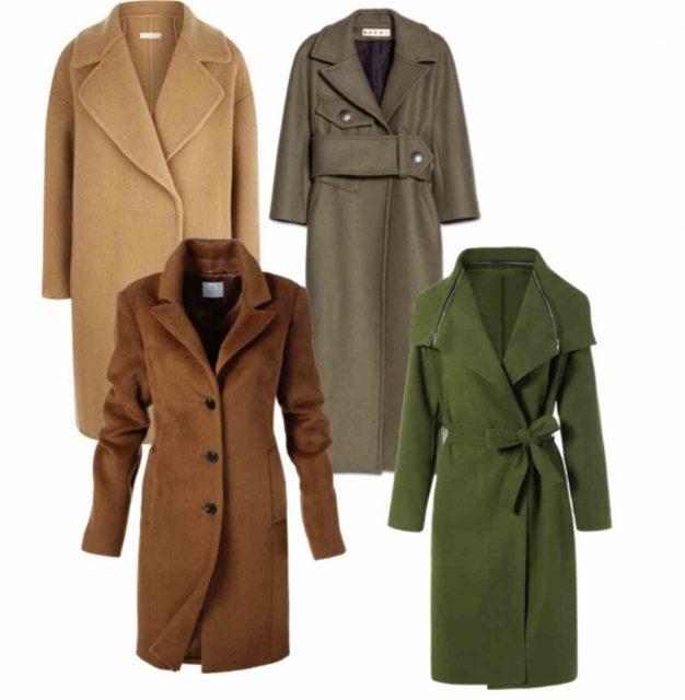 одежда образ пальто