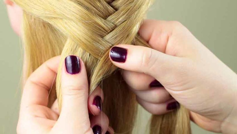 Римское плетение кос