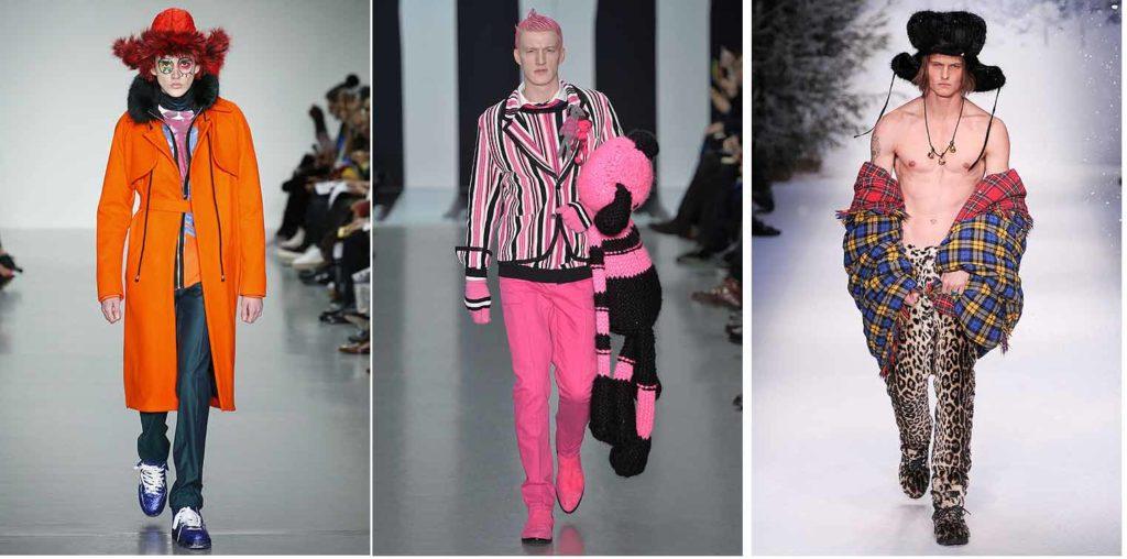 непредсказуемая мужская мода
