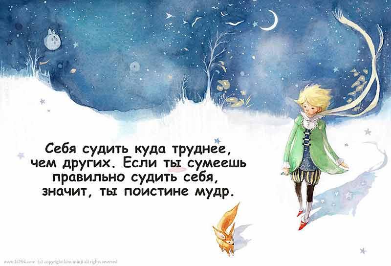 цитаты +из маленького принца экзюпери