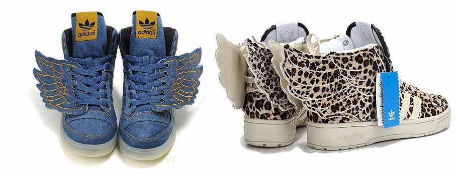 Кроссовки с крыльями Adidas