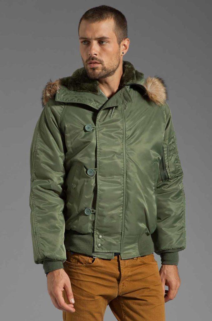 Куртка аляска модель для мужчин
