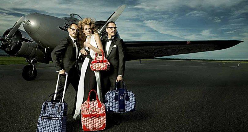 Дорожные сумки из плотной ткани для путешествия
