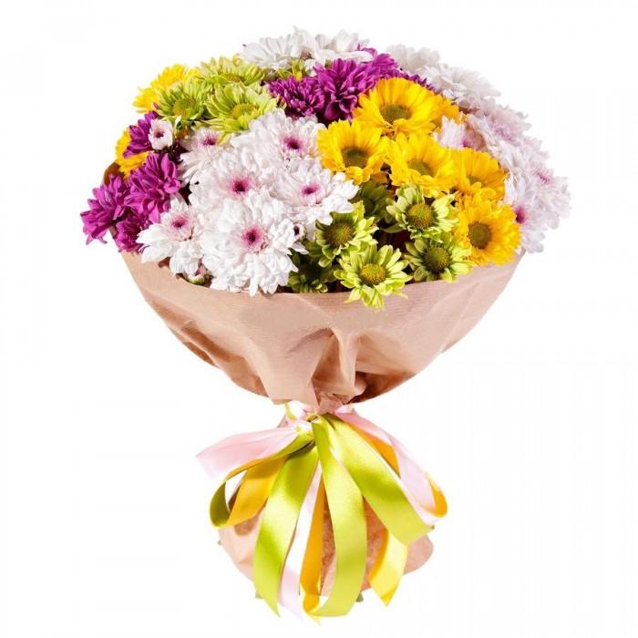 Хризантемы в цветочных композициях