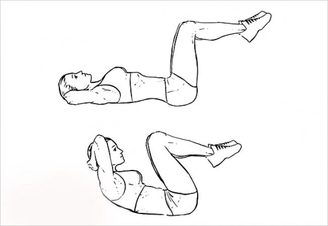 Кроссфит упражнения сгибание