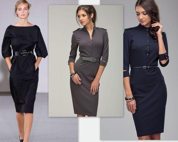 модные платья, подчёркивающие стиль