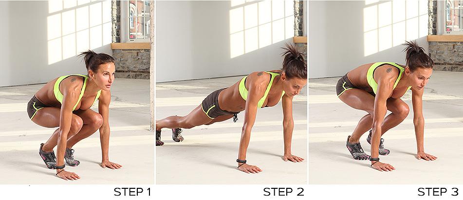 Кроссфит упражнения на группу мышц лягушка