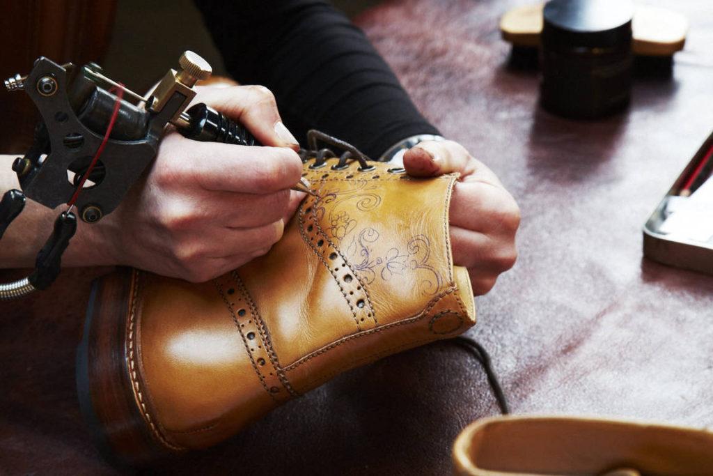Уникальные мужские ботинки Oliver Sweeney