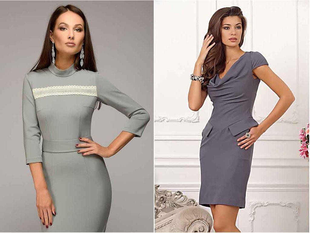 Серые платья brandwomen