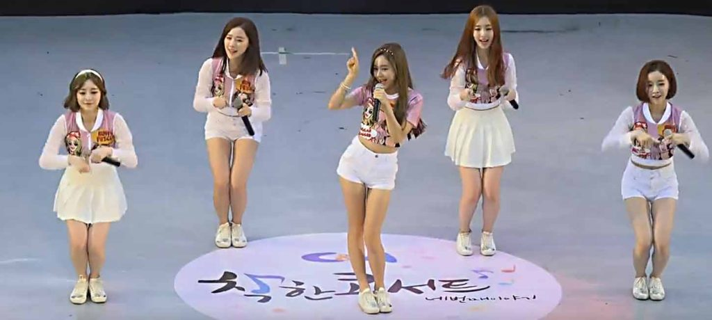 Эстетичный танец кореянок TREND-D