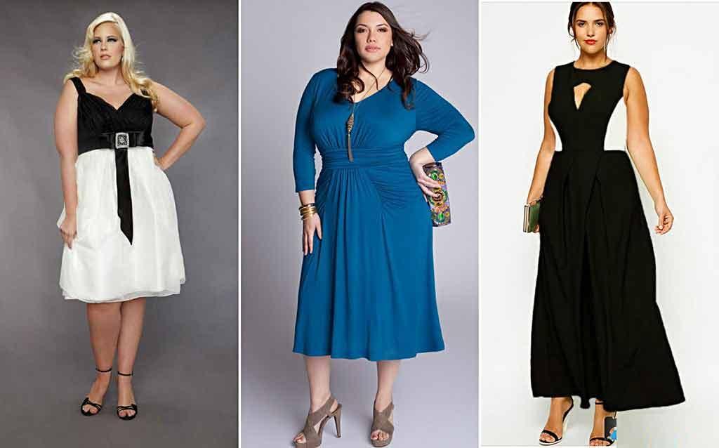 Какая одежда подходит полным женщинам