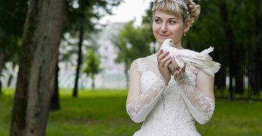 Неординарные платья для свадьбы