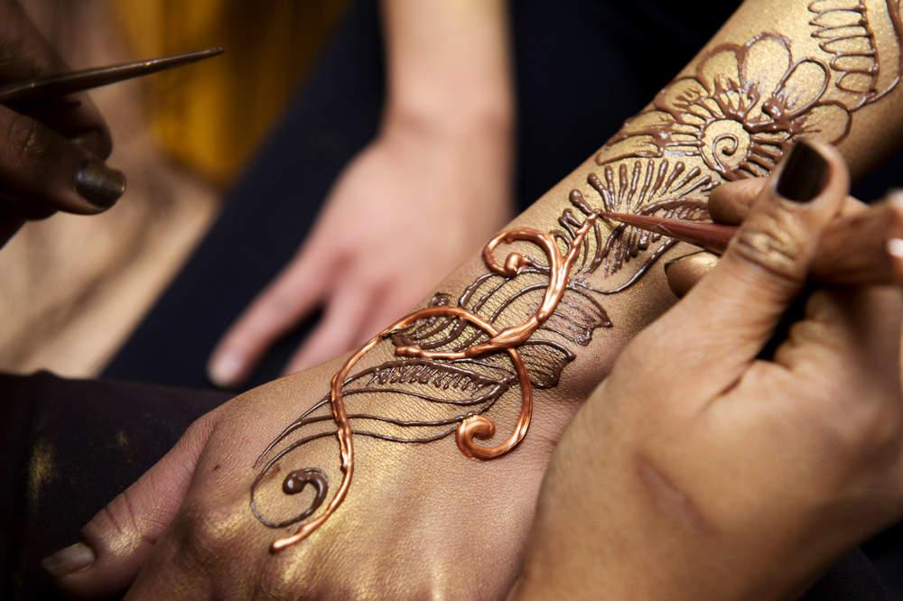 Боди-арт роспись по телу