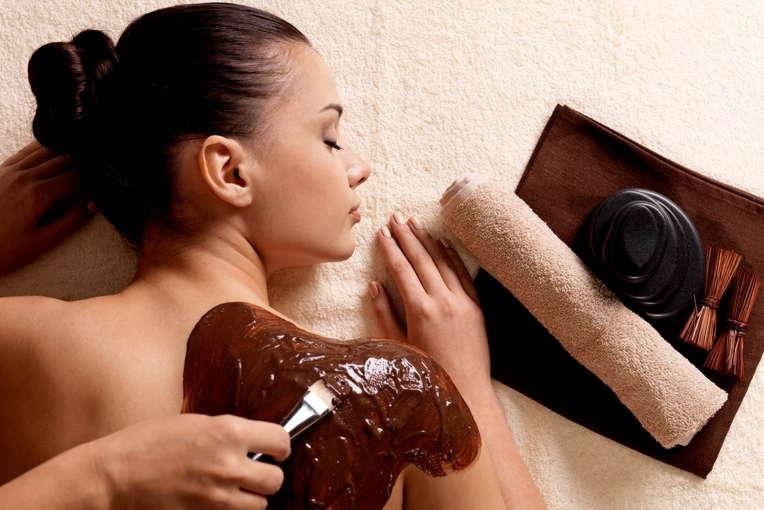 шоколадное обертывание тела