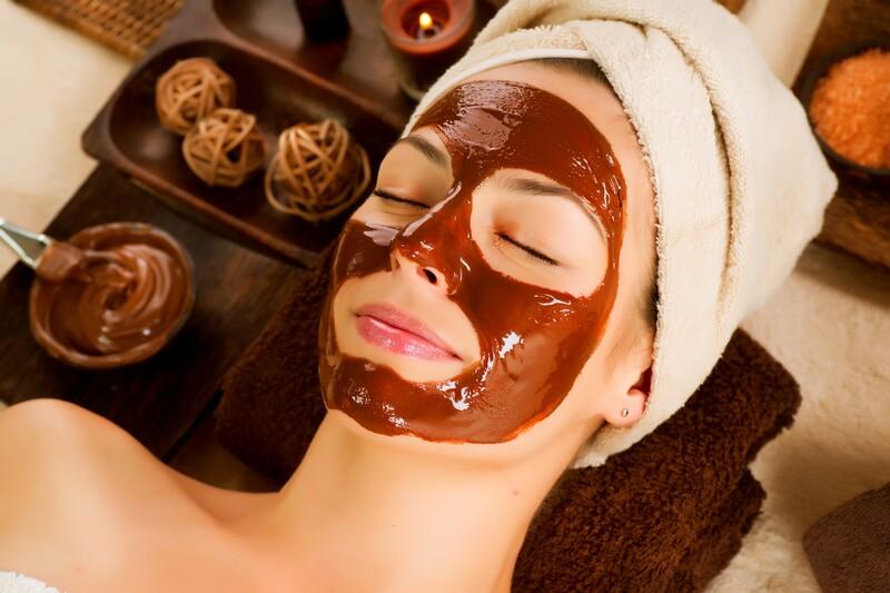 шоколадное обертывание маска