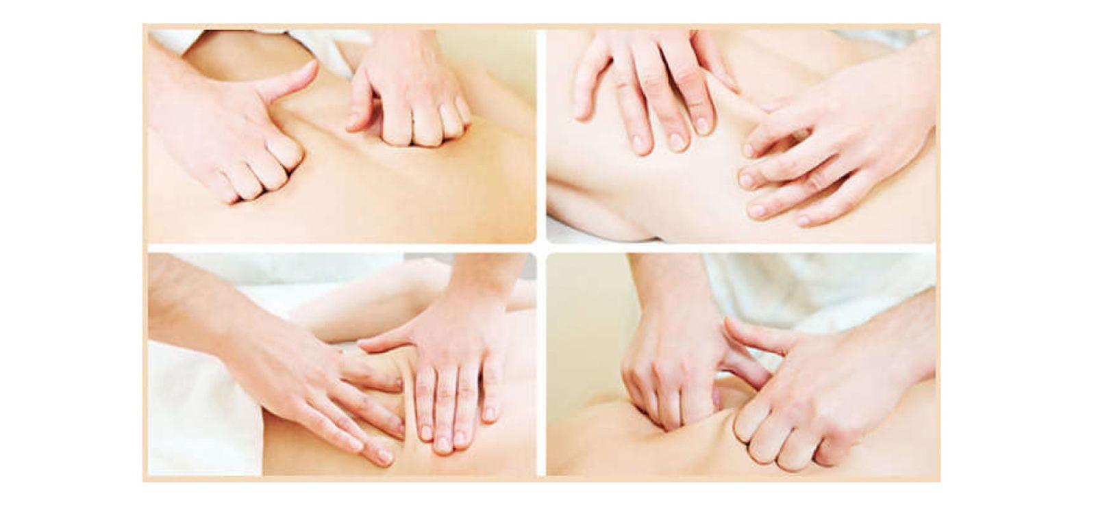 Как происходит массаж спины