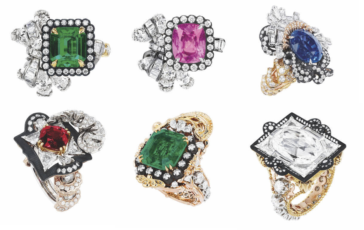 коллекция ювелирных украшений от Dior