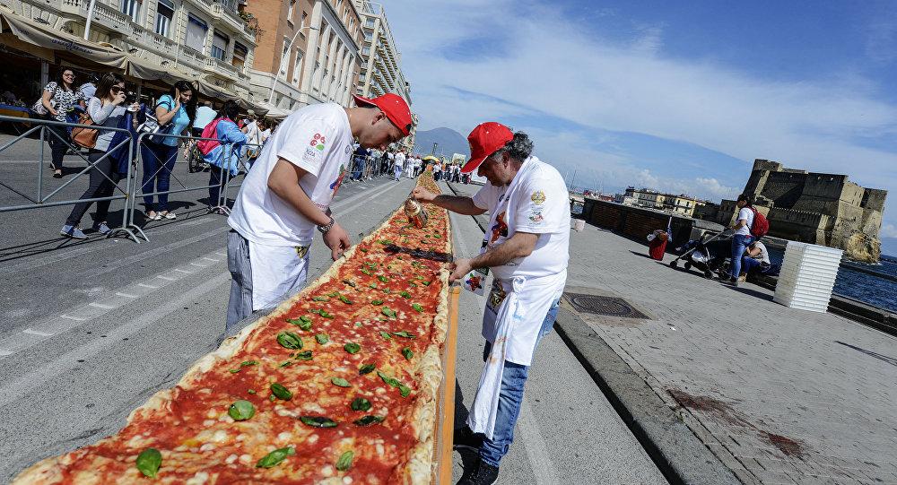 Пицца 2000 м длиной