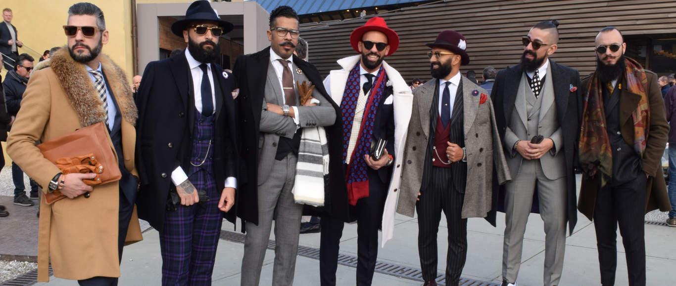 Мода 2018 мужское пальто