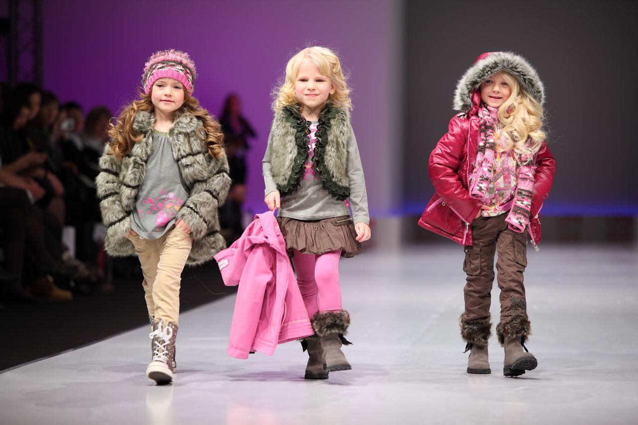 Модные детские курточки